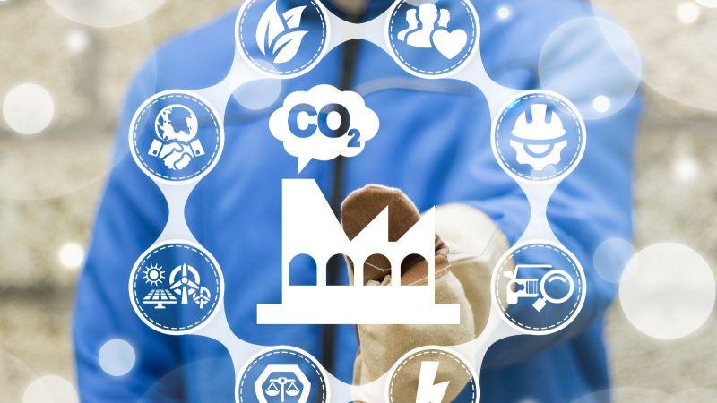 Symbolbild CO2-Kreislaufwirtschaft