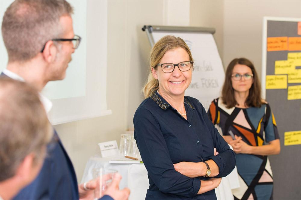 Prof. Dr.-Ing Daniela Thrän vom DBFZ Deutsches Biomasseforschungszentrum
