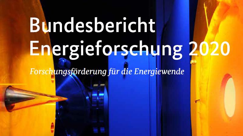 Cover des Bundesberichts Energieforschung